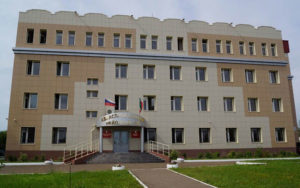 Здание Авиастроительного районного суда г. Казани